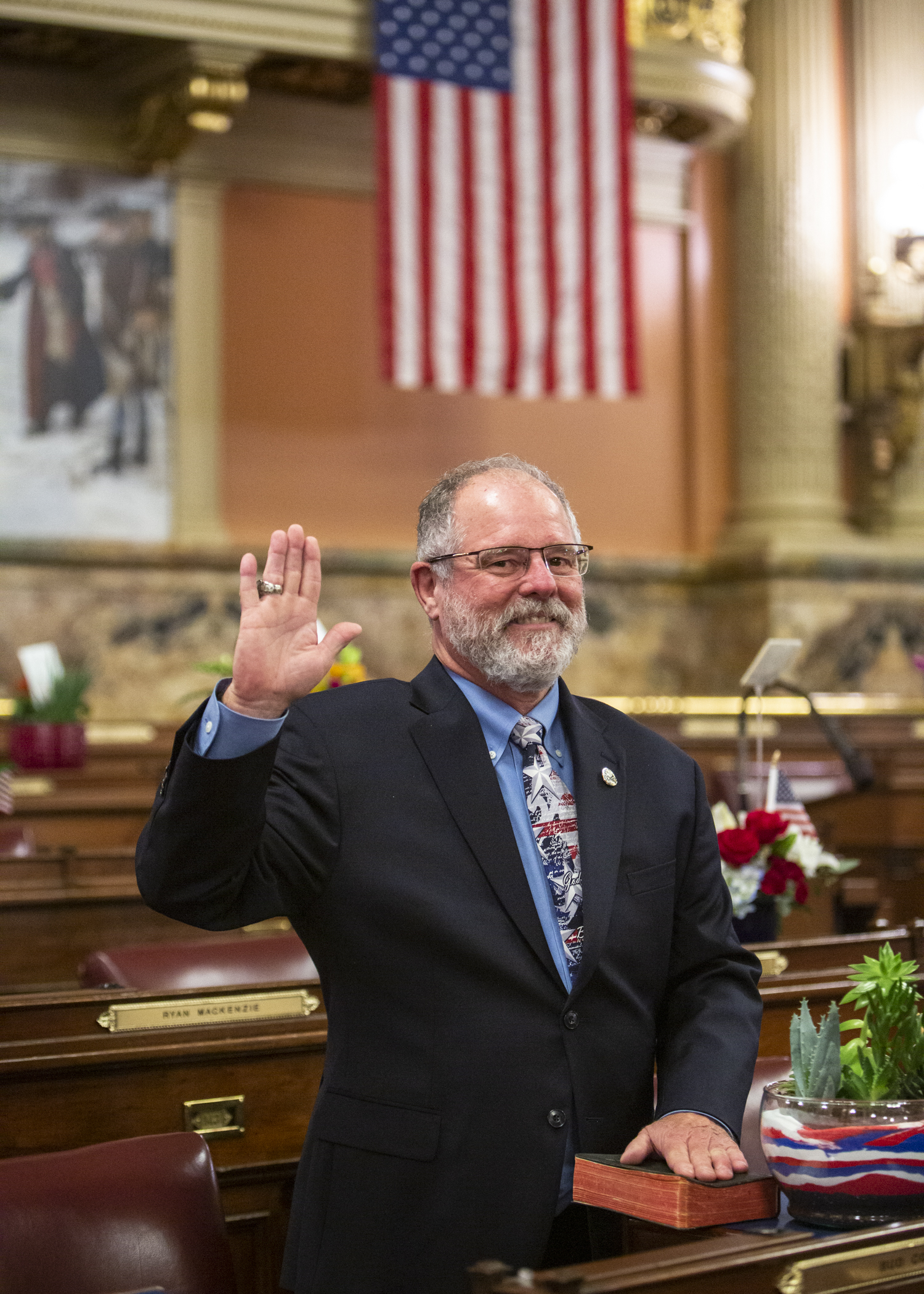 Cook Sworn In to Serve Third Term in House of Representatives